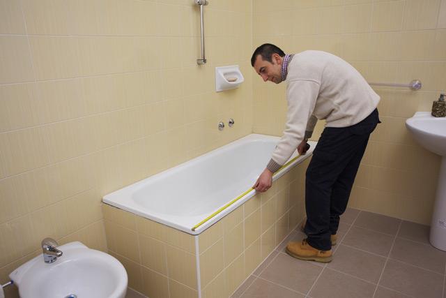 Sovrapposizione vasche da bagno fasi di lavorazione - Sovrapposizione piastrelle bagno ...
