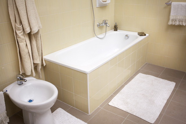 Vasche Da Bagno Vetroresina : Sovrapposizione vasche da bagno u2013 fasi di lavorazione